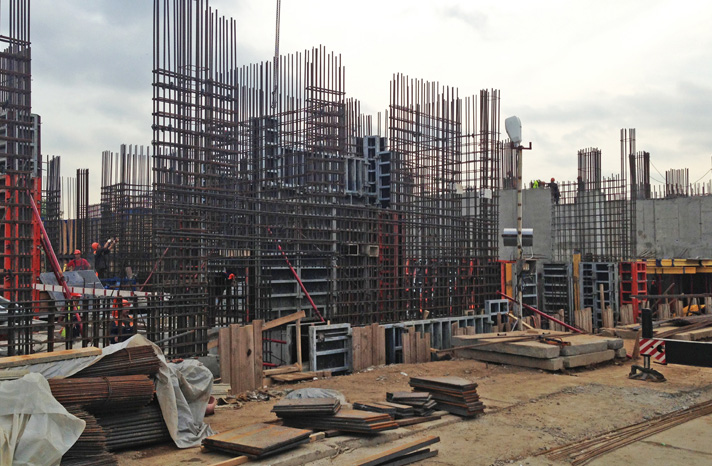 Строительство жилья в Украине, арматура