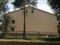 отделка фасада в школе