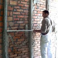Подготовка помещений и поверхностей под штукатурку