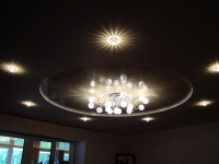 оформление потолов